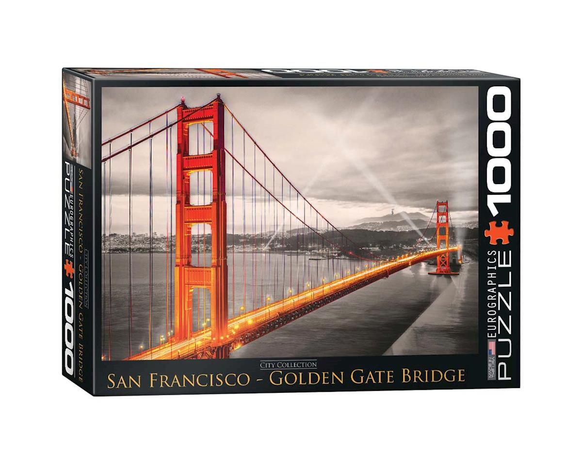 Eurographics 6000-0663 San Francisco Golden Gate Bridge 1000pcs
