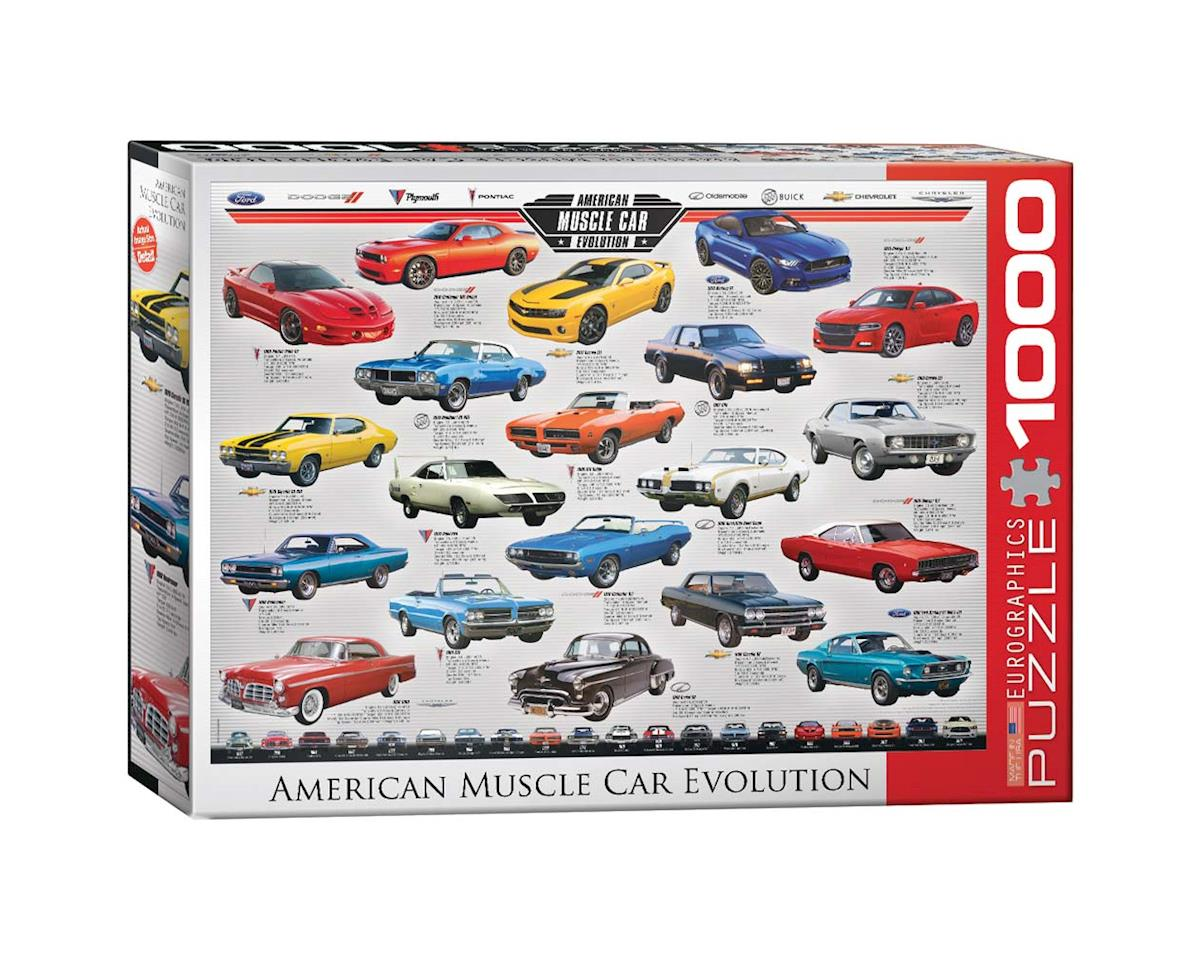 6000-0682 American Muscle Car Evolution 1000pcs by Eurographics