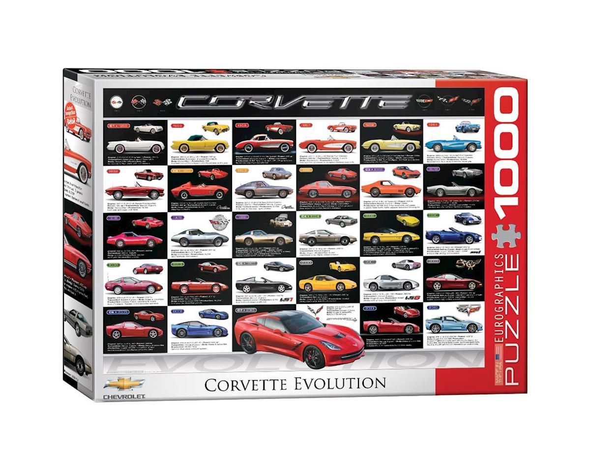 Eurographics 6000-0683 Corvette Evolution 1000pcs