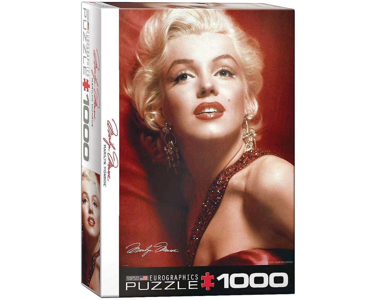 6000-0812 Marilyn Monroe Red Portrait 1000pcs