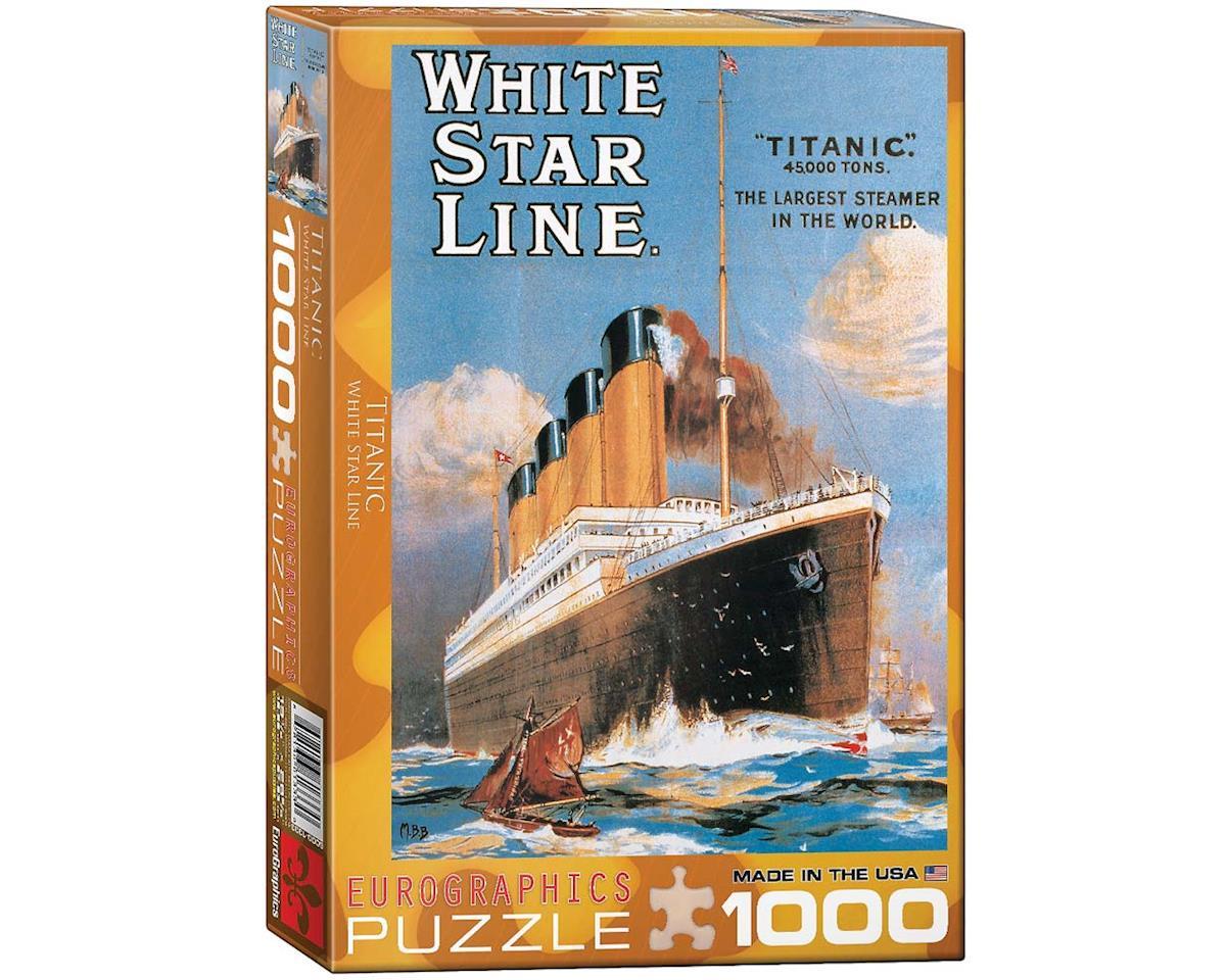 Eurographics 6000-1333 Titanic White Star Line 1000pcs