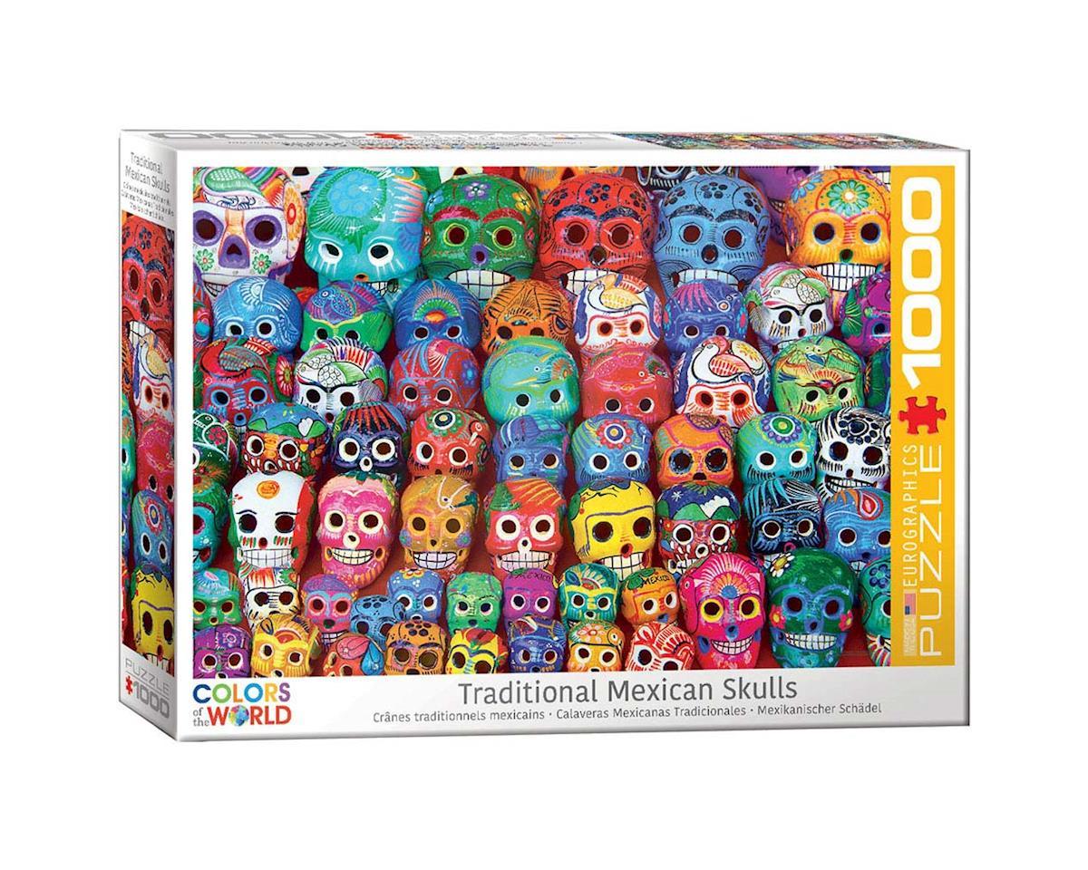 Eurographics 6000-5316 Traditional Mexican Skulls 1000pcs