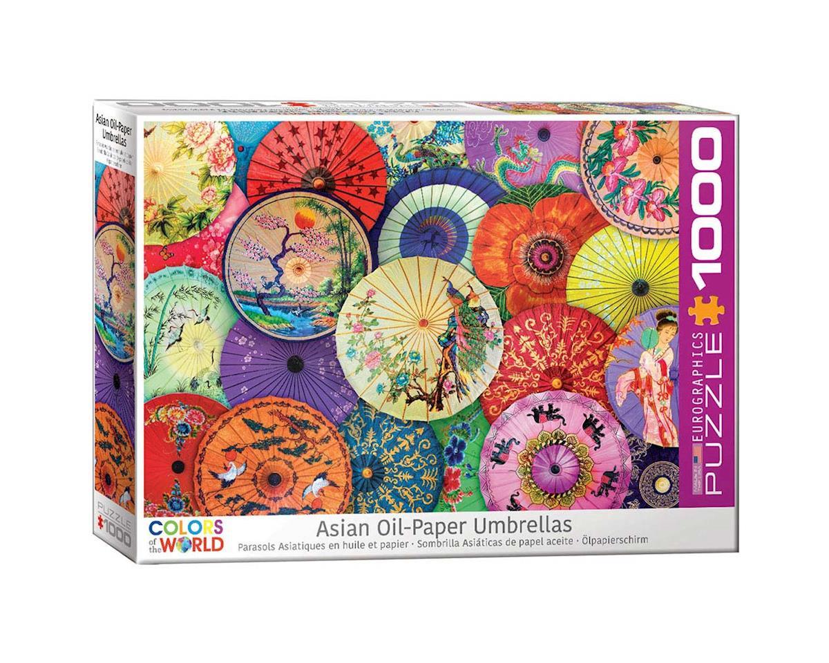 Eurographics 6000-5317 Asian Oil-Paper Umbrellas 1000pcs