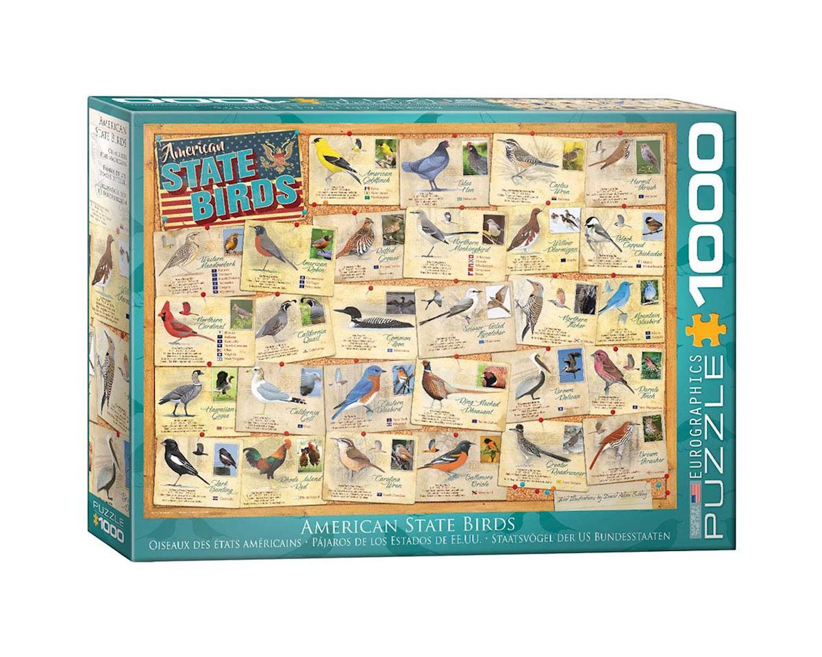 Eurographics 6000-5327 State Birds 1000pcs