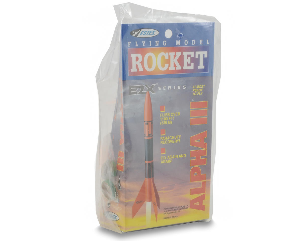 Estes Alpha III Rocket Kit (Skill Level E2X)