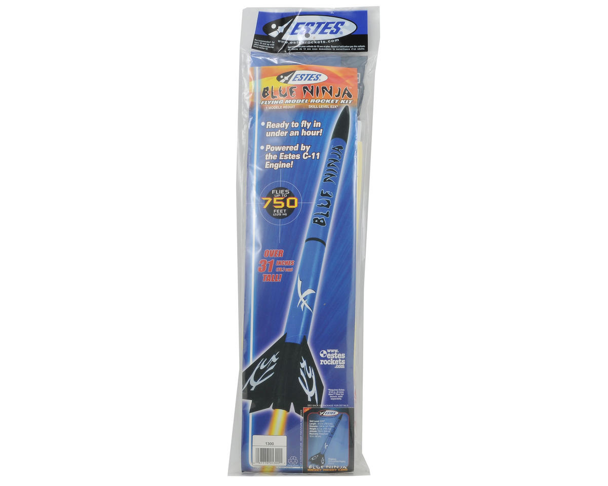 Estes Blue Ninja Rocket Kit (Skill Level E2X)