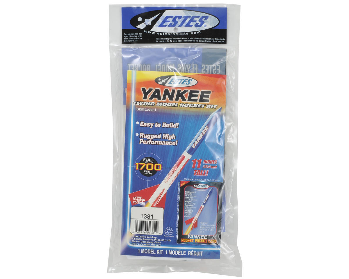 Estes Yankee Rocket Kit (Skill Level 1)