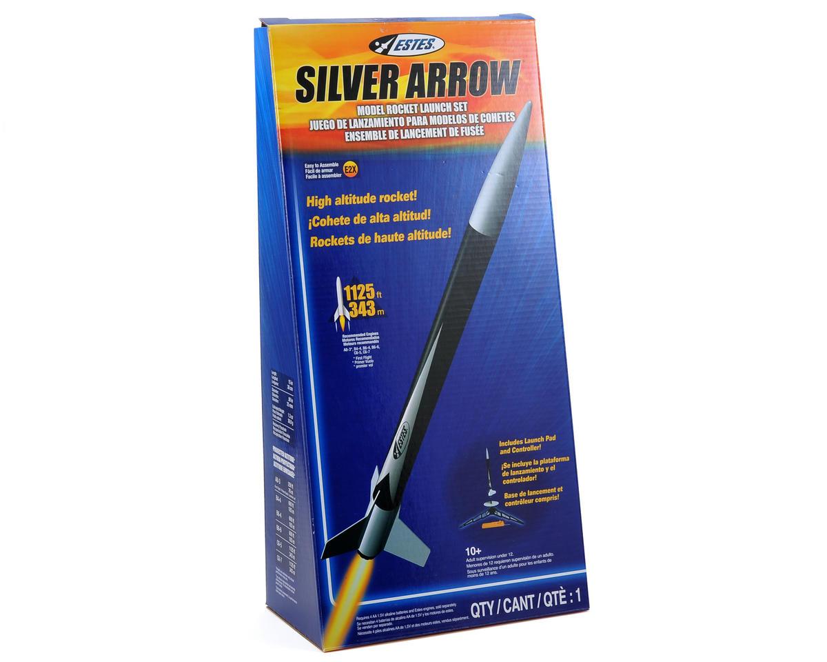 Silver Arrow Rocket Kit w/Launch Set (Skill Level E2X) by Estes
