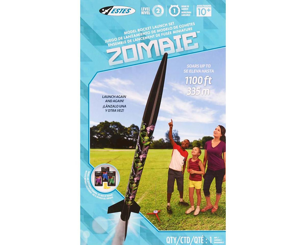 Estes 1435 Zombie Model Rocket Launch Set E2X