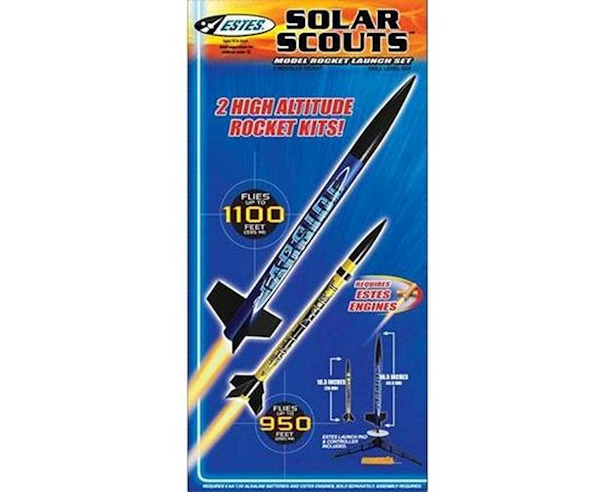 Estes? Solar Scouts Model Rocket Launch Set (No Engines) by Estes