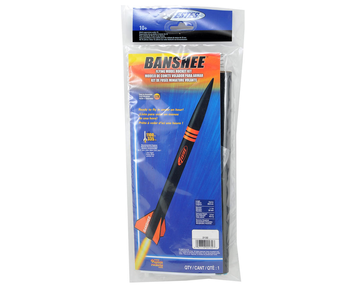 Estes Banshee Model Rocket Kit (Skill Level E2X)