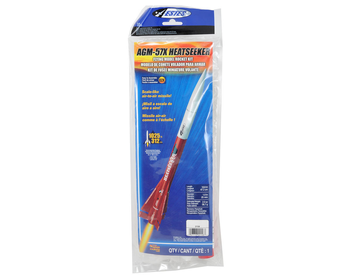 Estes AGM-57X Heatseeker Model Rocket Kit (Skill Level E2X)