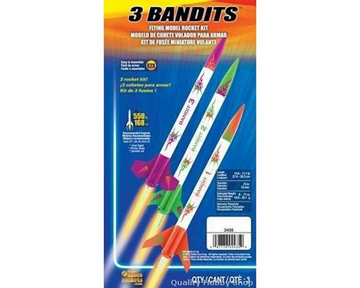 Estes  3 Bandits Model Rocket Kit (3 Kits Skill Level E2x