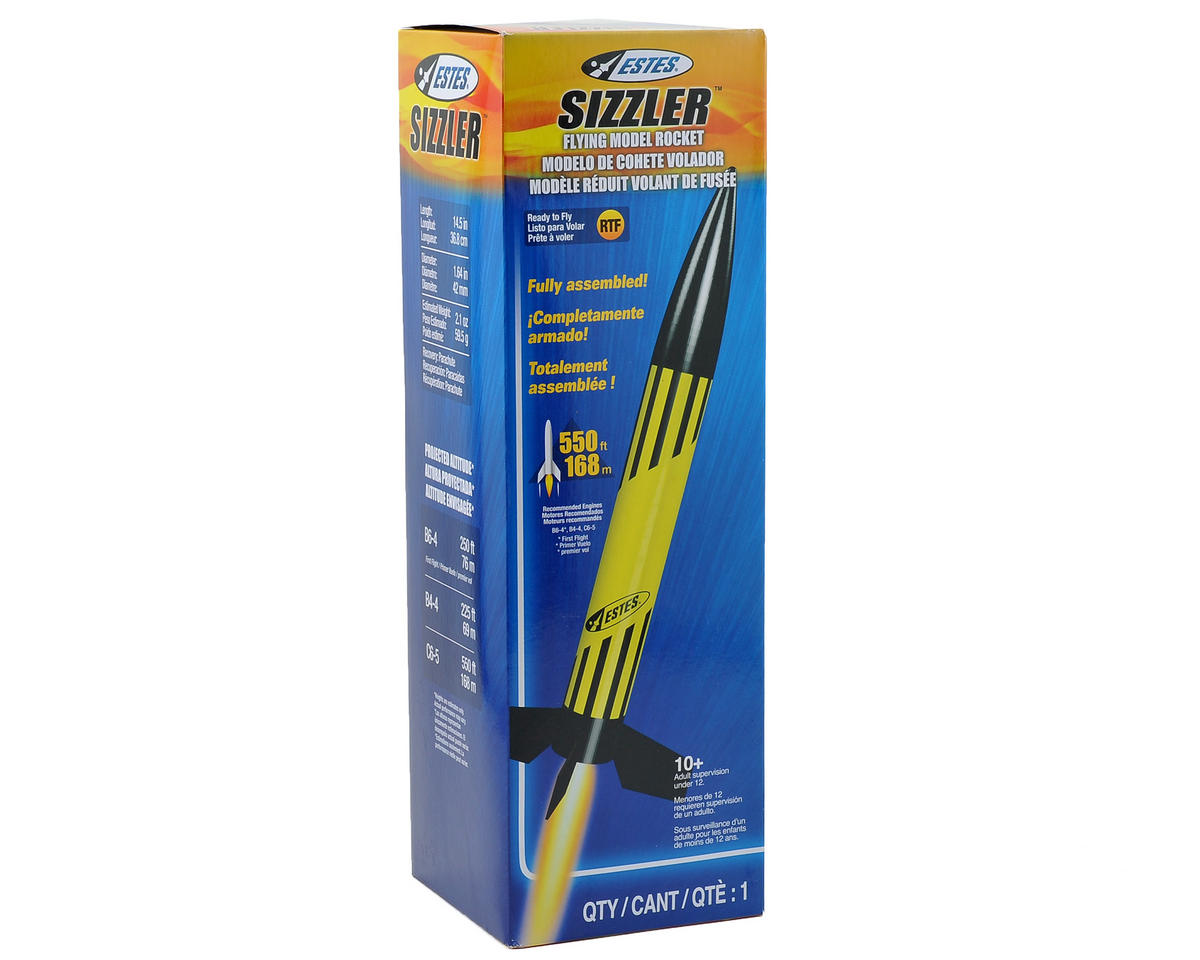 Estes Sizzler RTF Model Rocket Kit