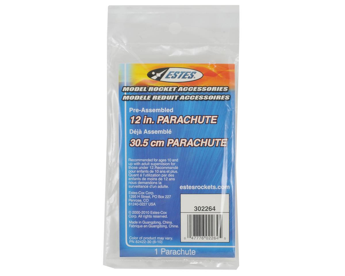 """12"""" Parachute by Estes"""