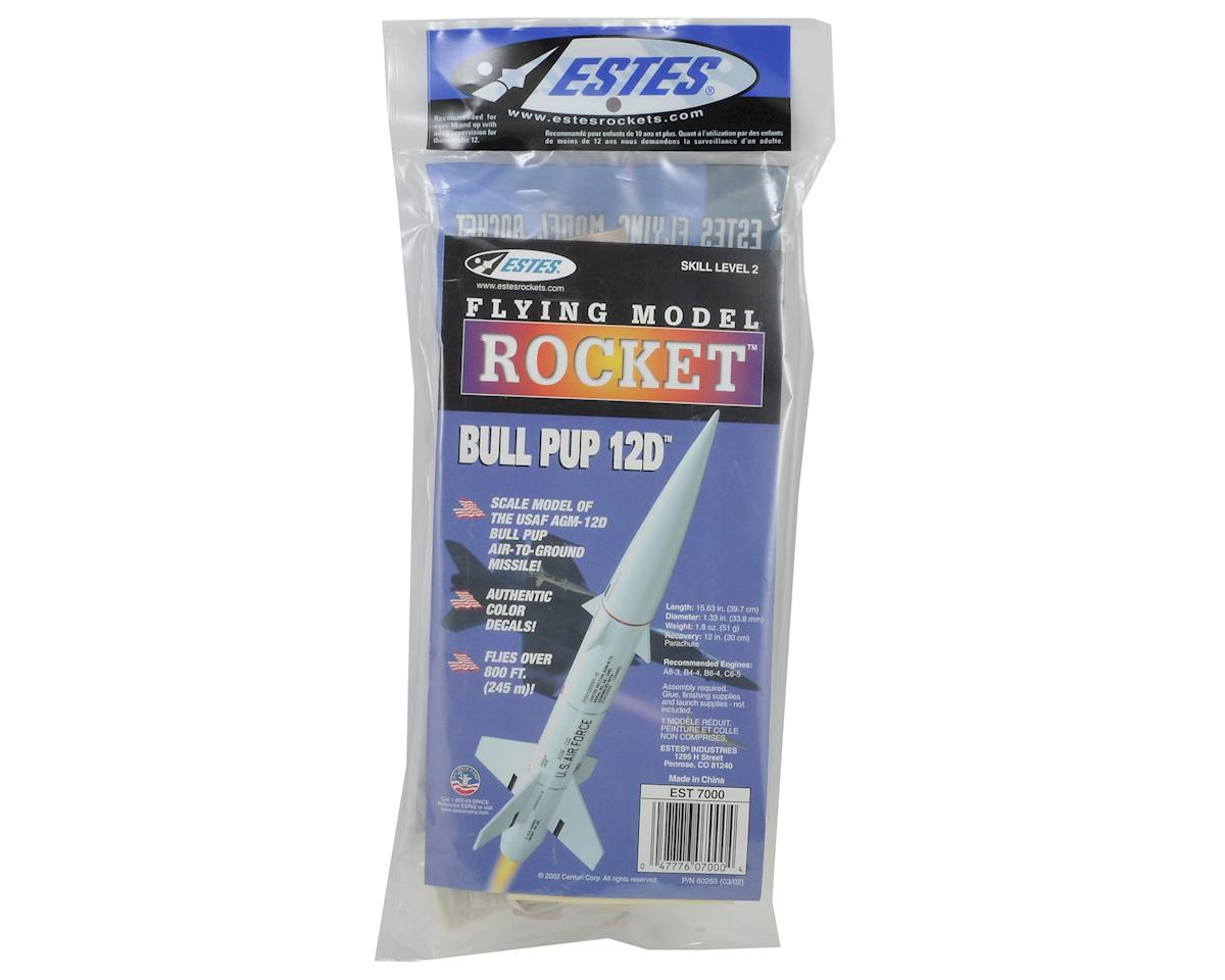 Estes Bull Pup 12D Rocket Kit (Skill Level 2)