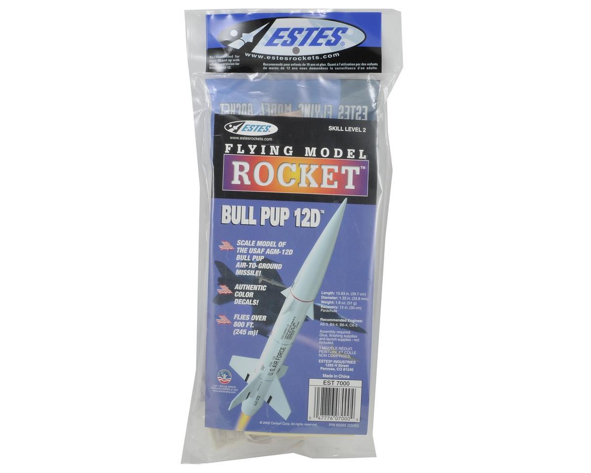 Bull Pup 12D Rocket Kit (Skill Level 2) by Estes