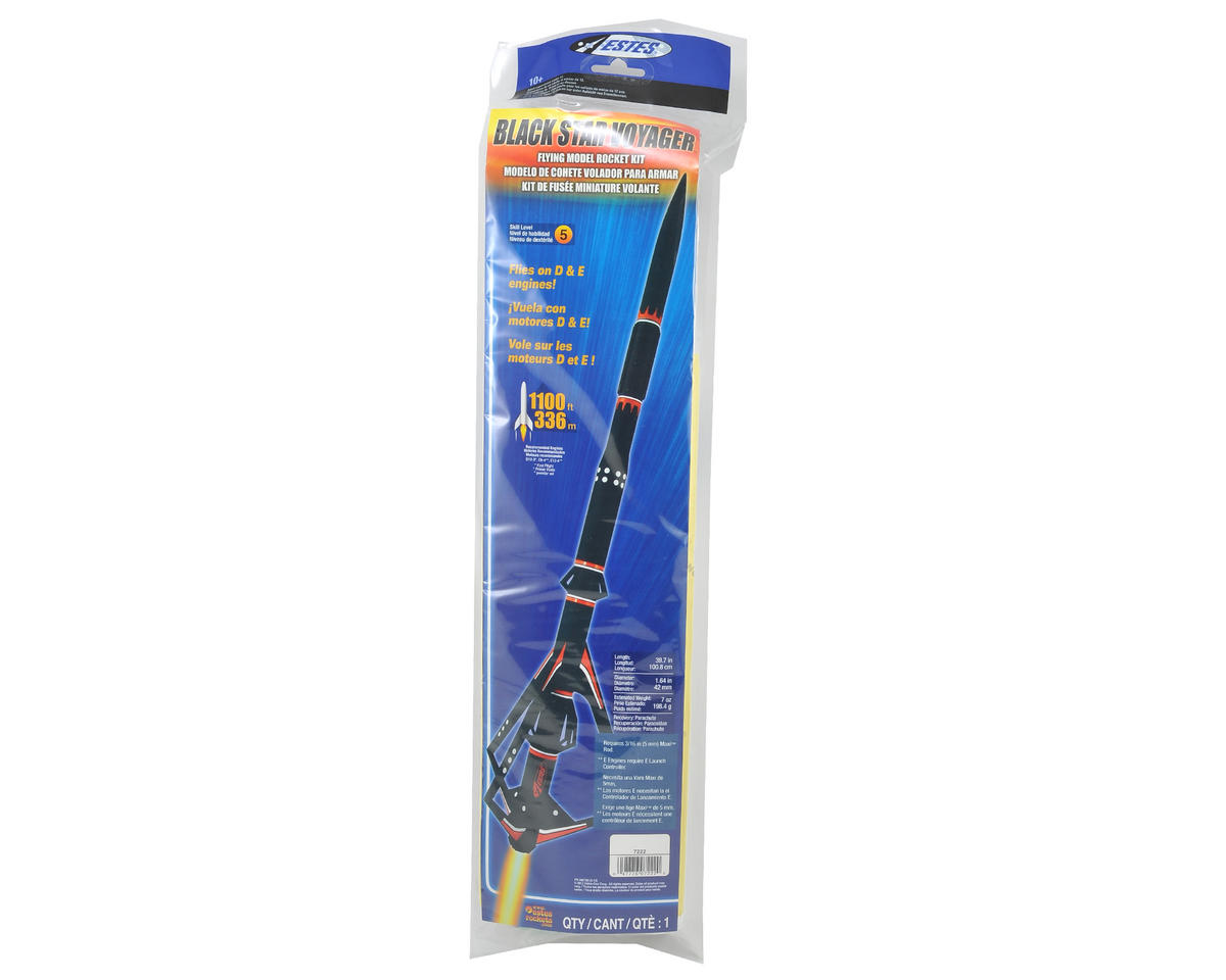 Estes Black Star Voyager Model Rocket Kit (Skill Level 5)