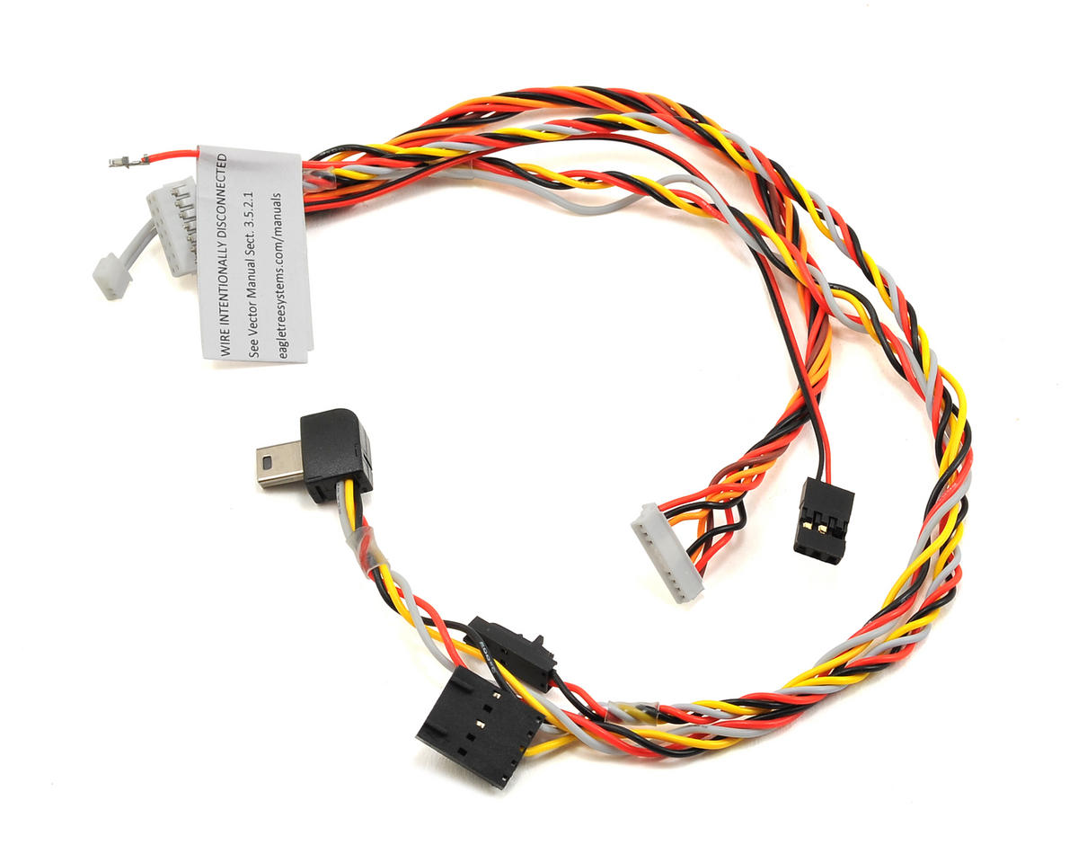 GoPro Hero 3/4 Plug AV Cable by Eagle Tree Systems