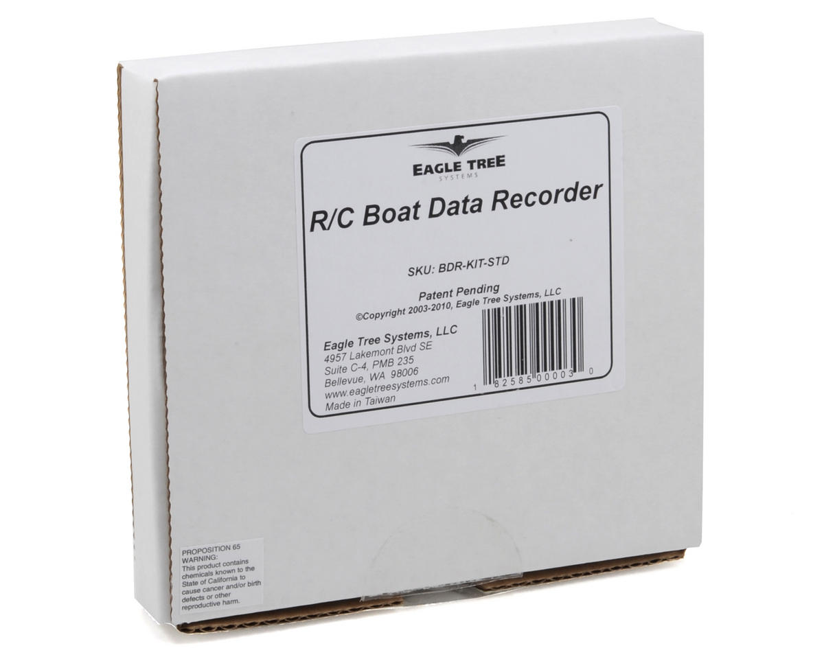 Eagle Tree Systems R/C Boat Data Recorder