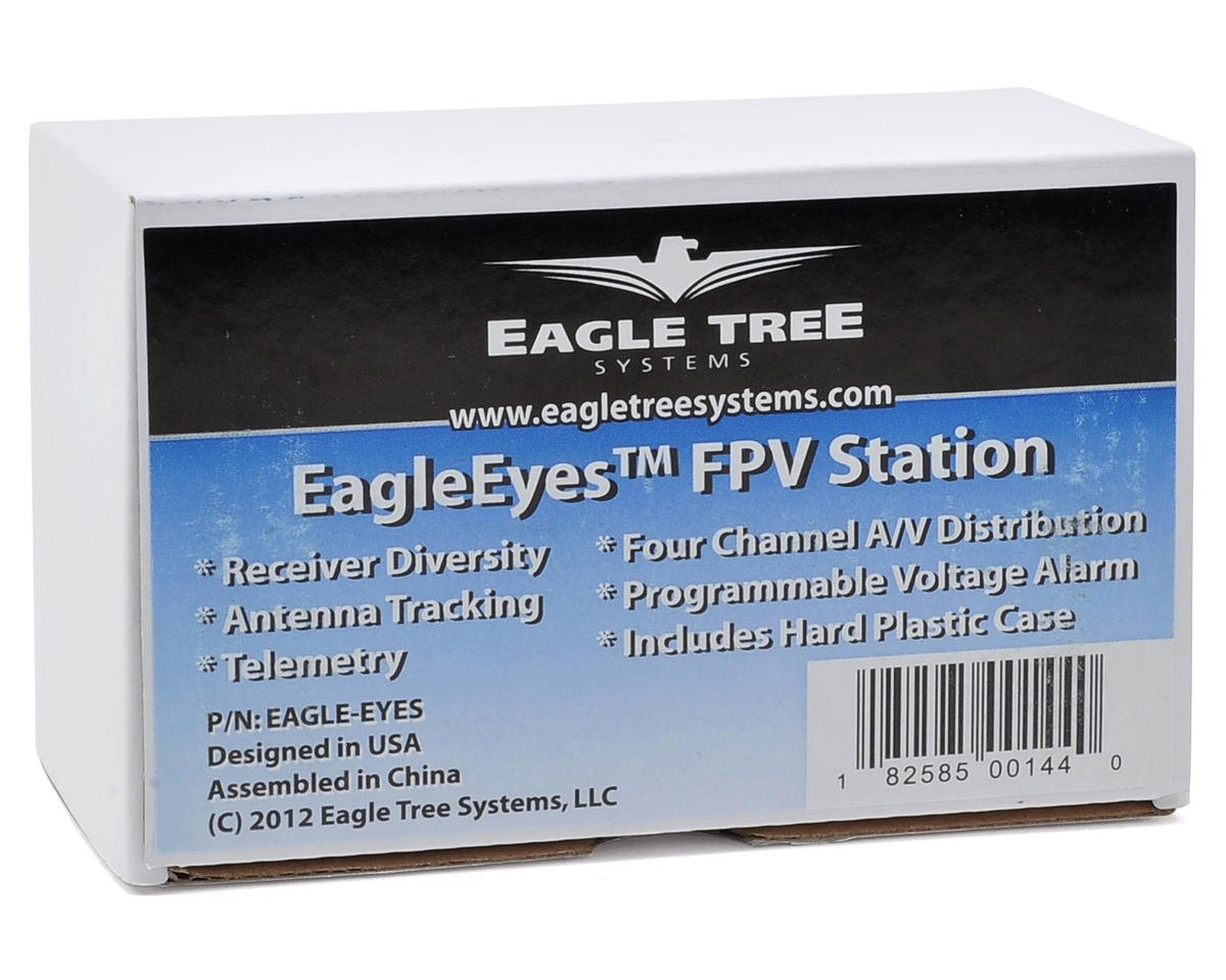Eagle Tree Systems EagleEyes FPV Station w/Plastic Case