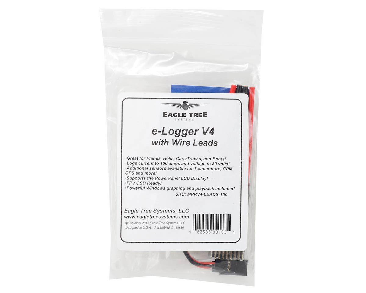 Eagle Tree Systems eLogger V4 w/Wire Leads 100 Amps