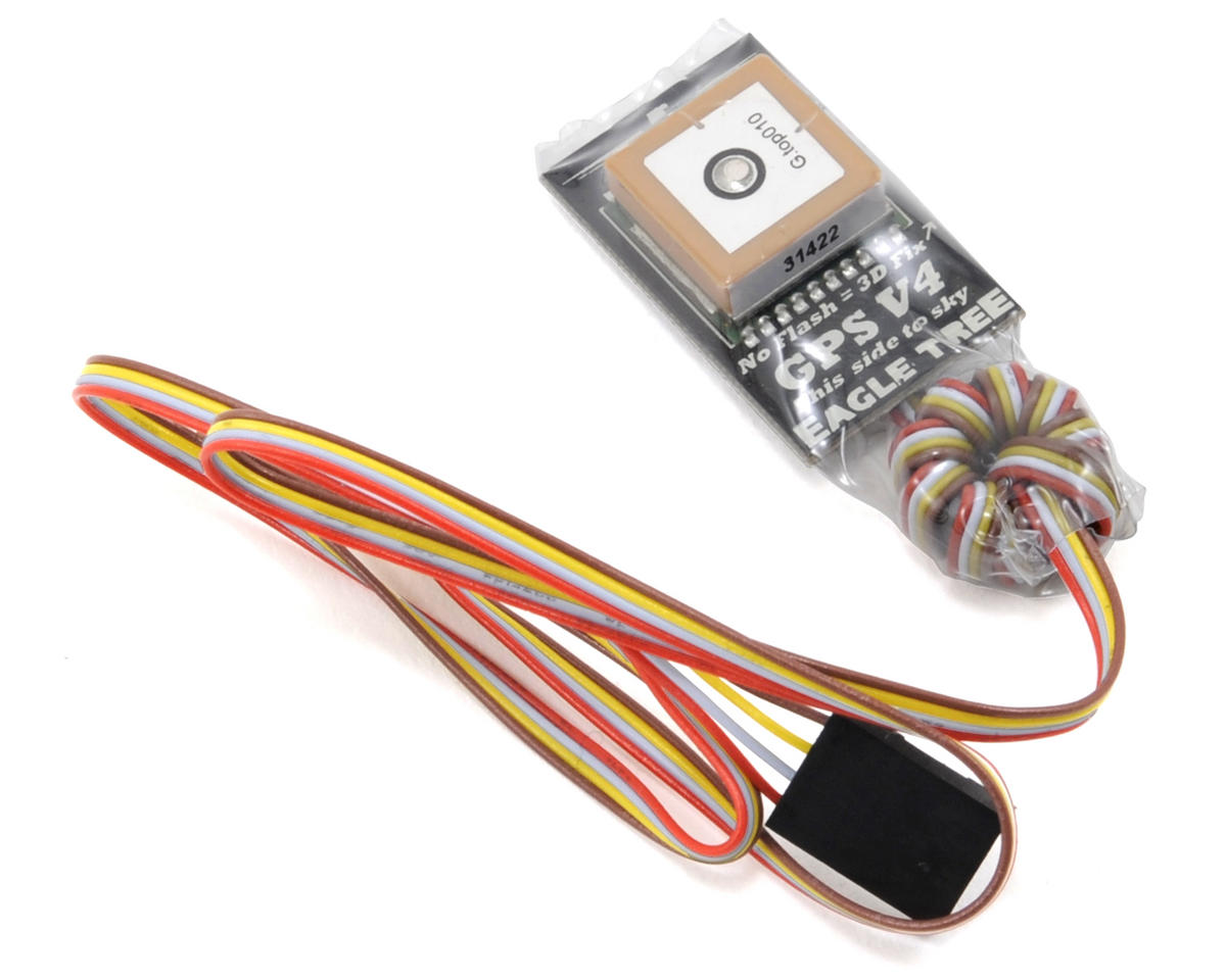 Eagle Tree Systems OSD Pro Combo Package w/150A eLogger & 10Hz GPS (Wire Leads)