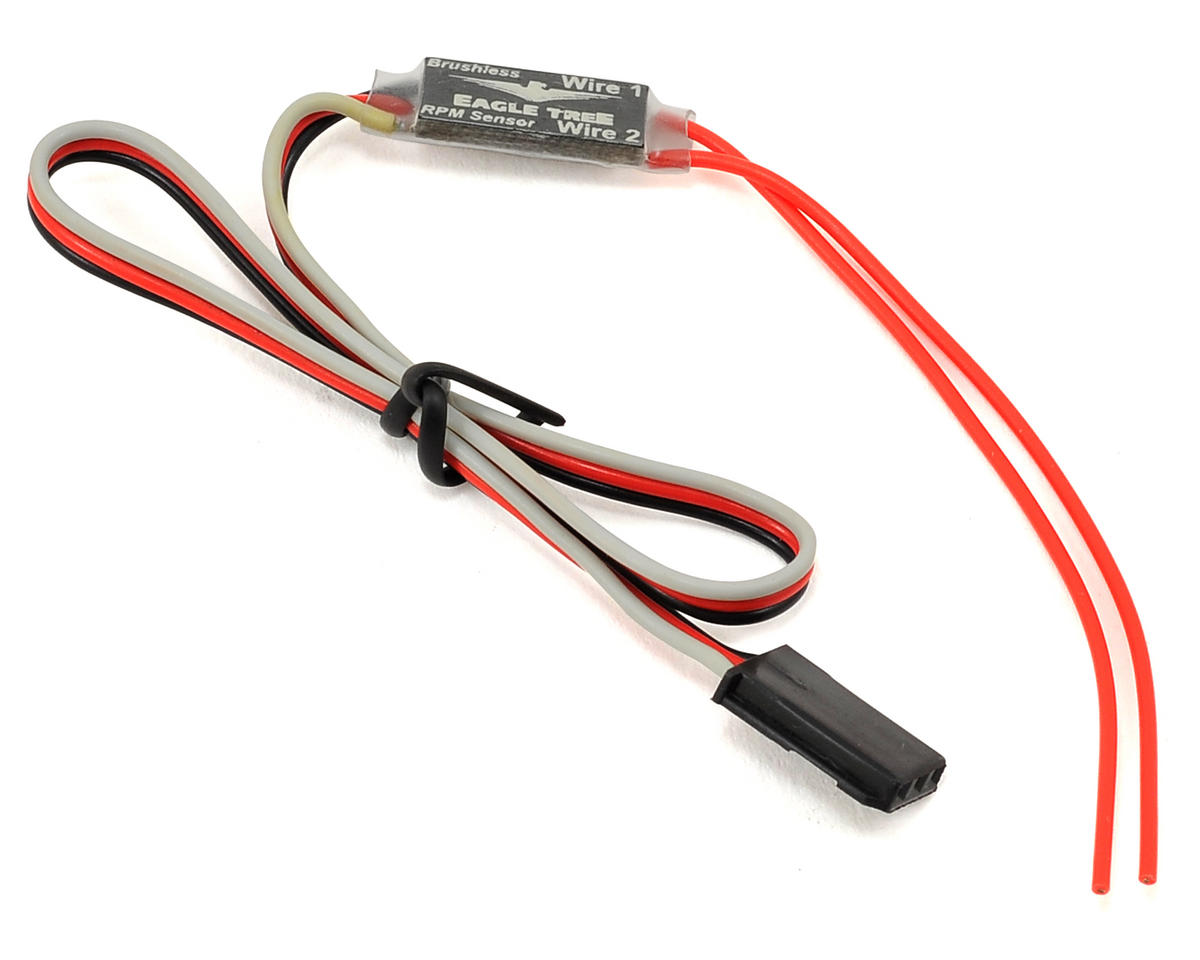 Brushless Motor RPM Sensor V2 by Eagle Tree Systems