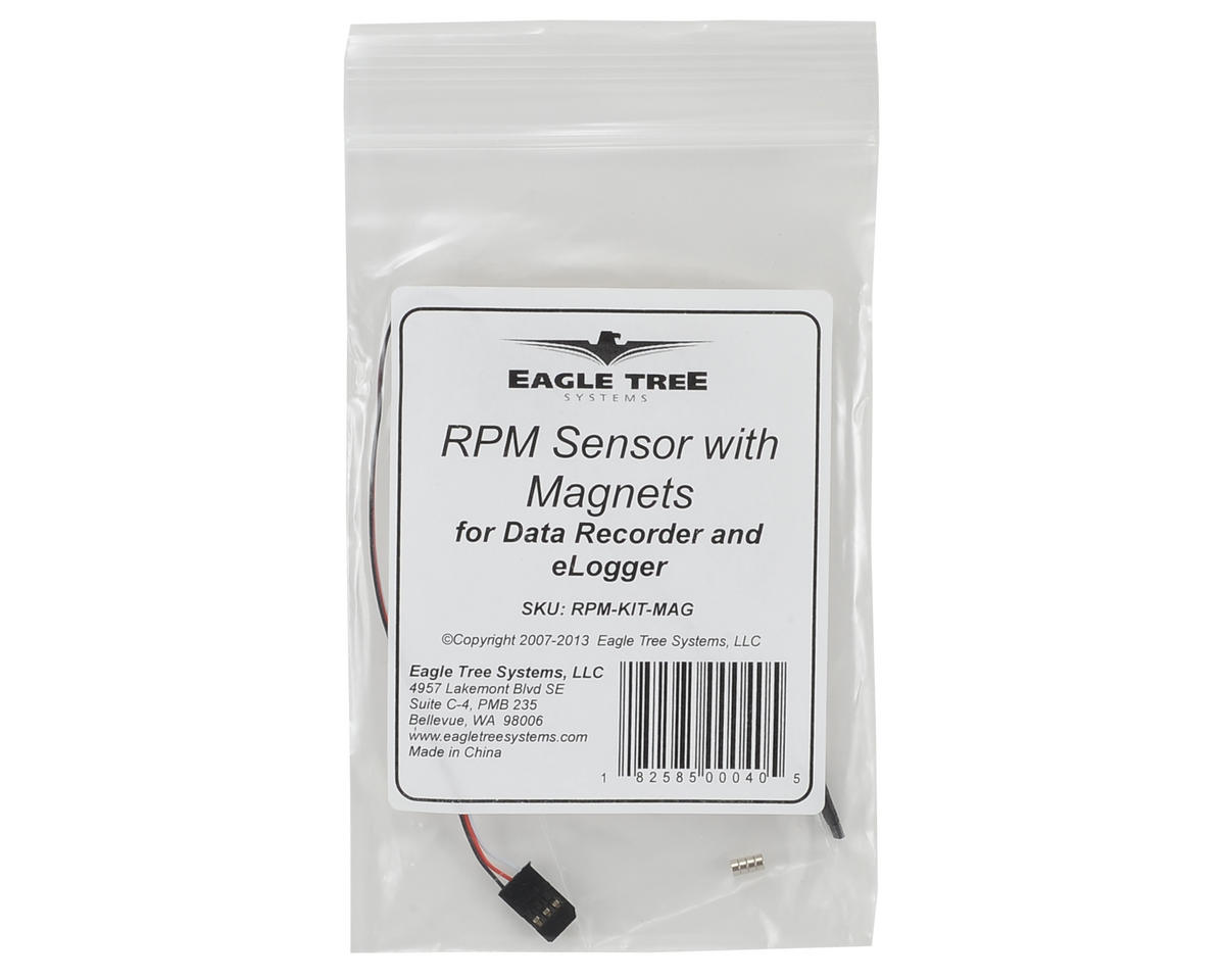 Eagle Tree Systems Magnetic RPM Sensor w/Magnets