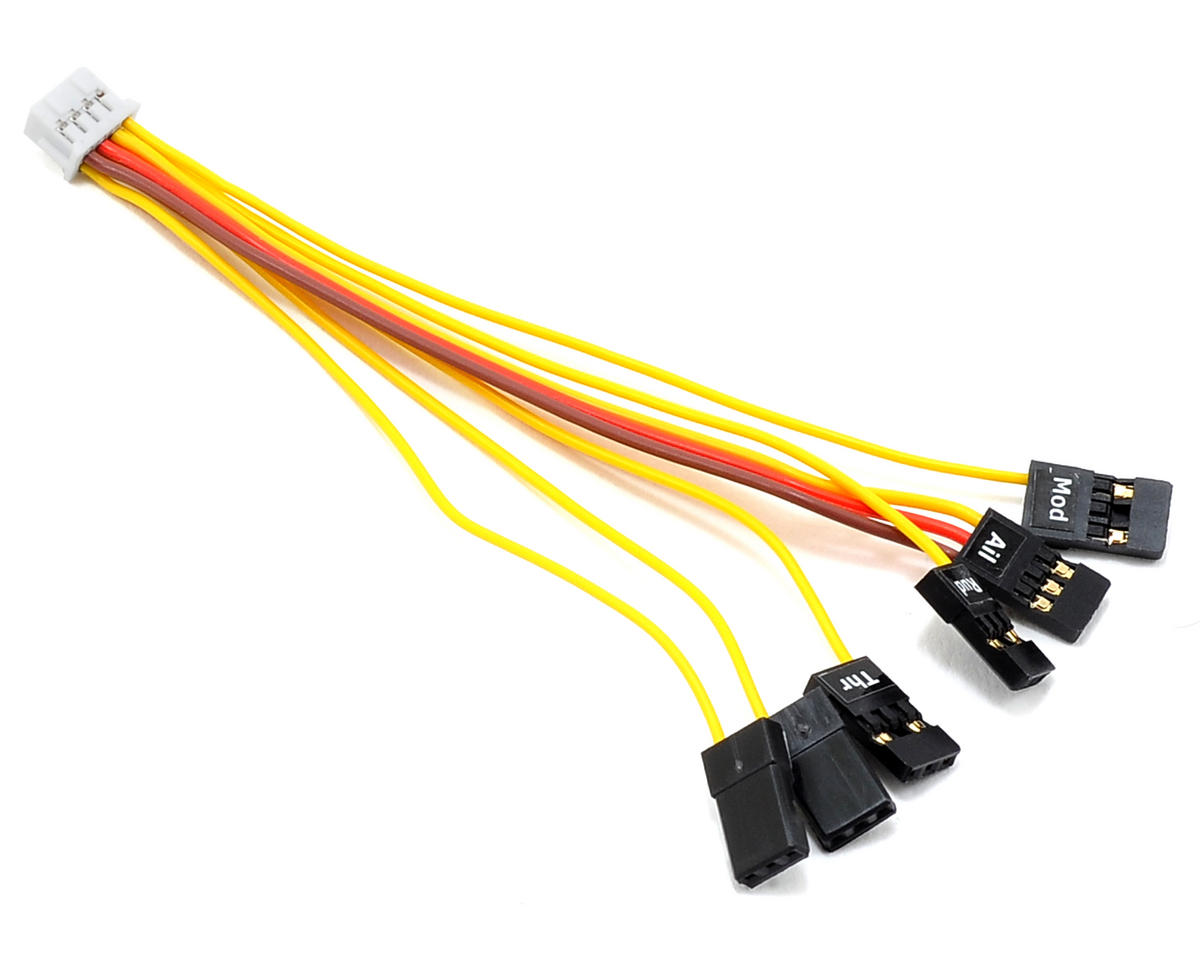 Vector 100mm Receiver Connection Harness by Eagle Tree Systems