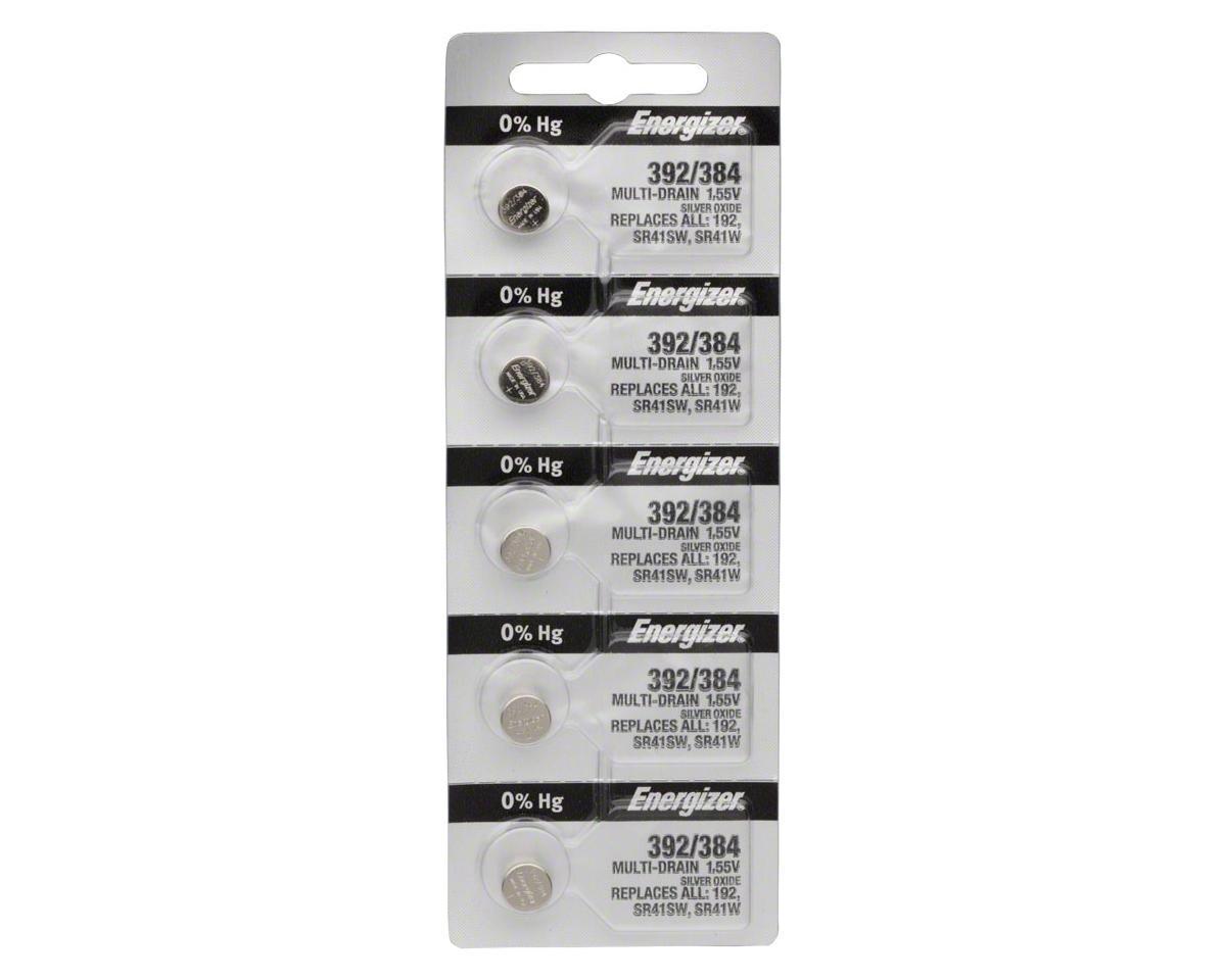 Energizer 392 / 384 Silver Oxide Multi-Drain Battery (1.55v) (5)