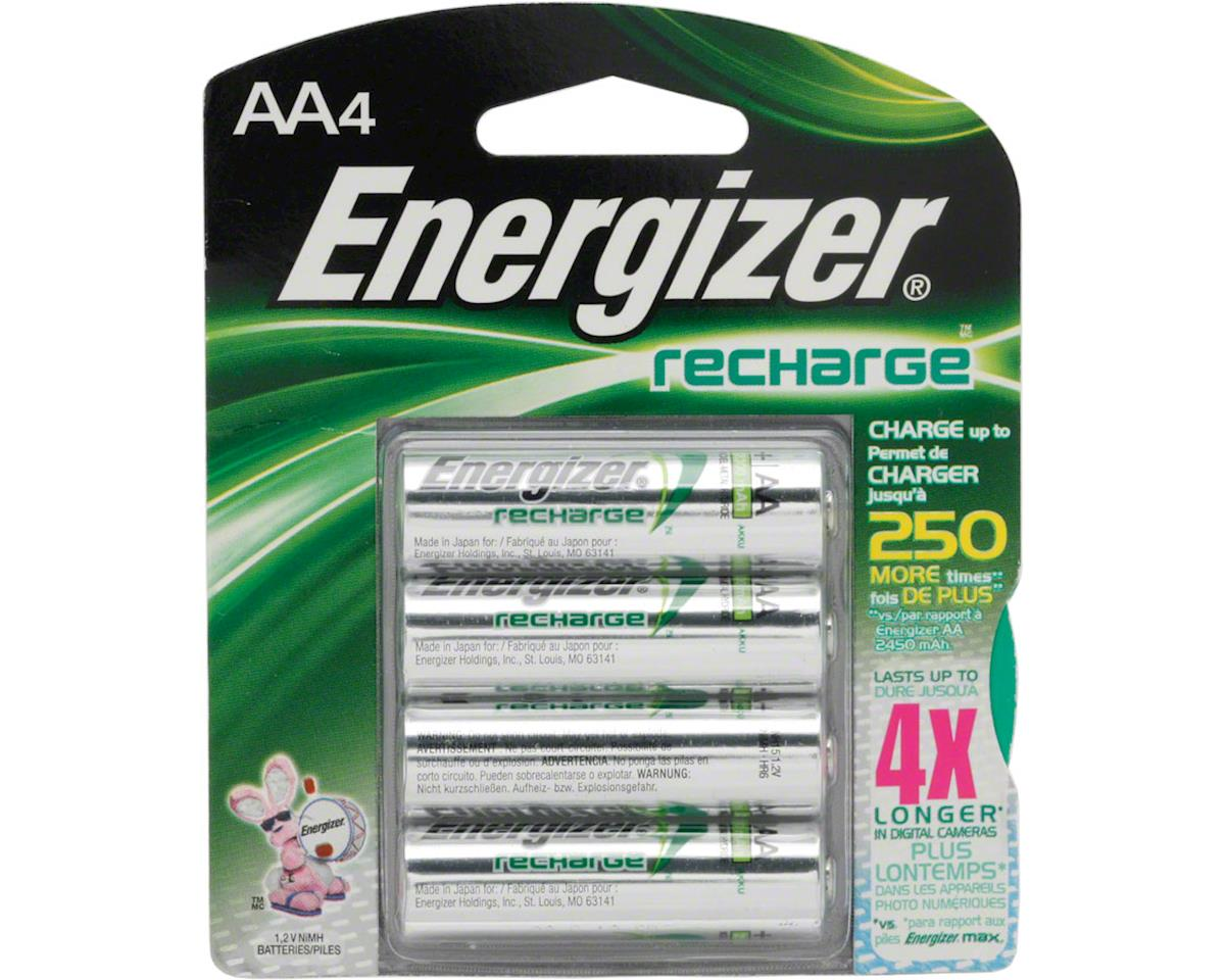 Energizer Rechargeable AA NiMH E² Batteries (4)