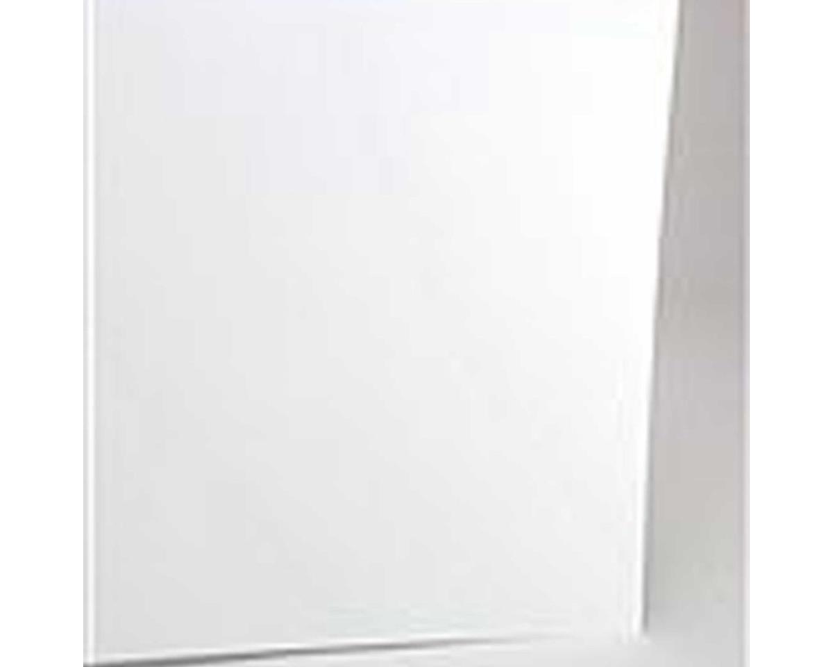 Evergreen Scale Models White Sheet .015 12 X 24 (12)