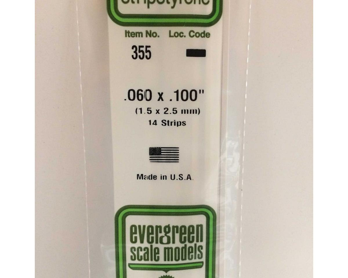 "Evergreen Scale Models 24"" Strip Pack, .060x.100 (14)"