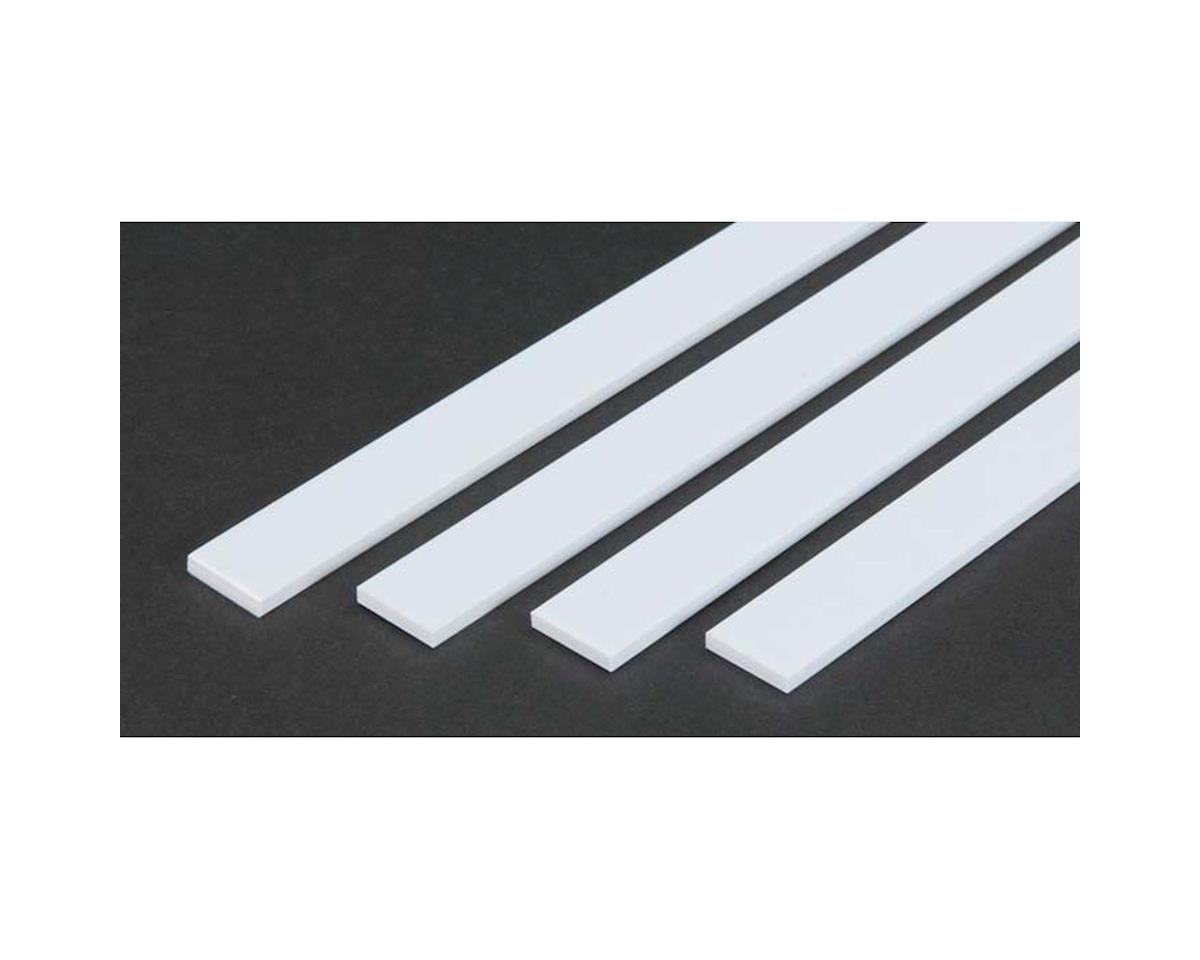 "24"" Strip Pack, .125x.625 (4) by Evergreen Scale Models"