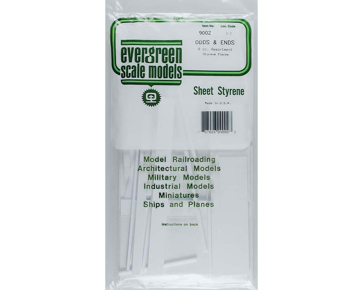 White Sheet Odds & Ends by Evergreen Scale Models