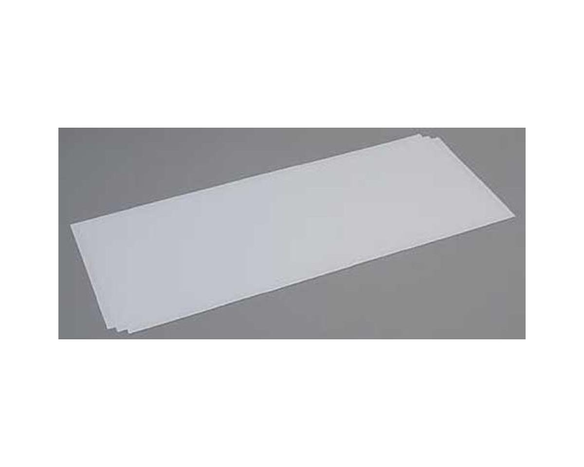 Evergreen Scale Models White Sheet .040 x 8 x 21 (3)