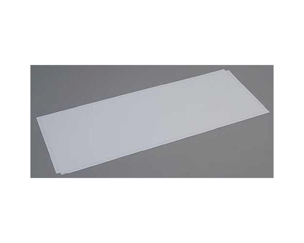 Evergreen Scale Models White Sheet .060 x 8 x 21 (2)