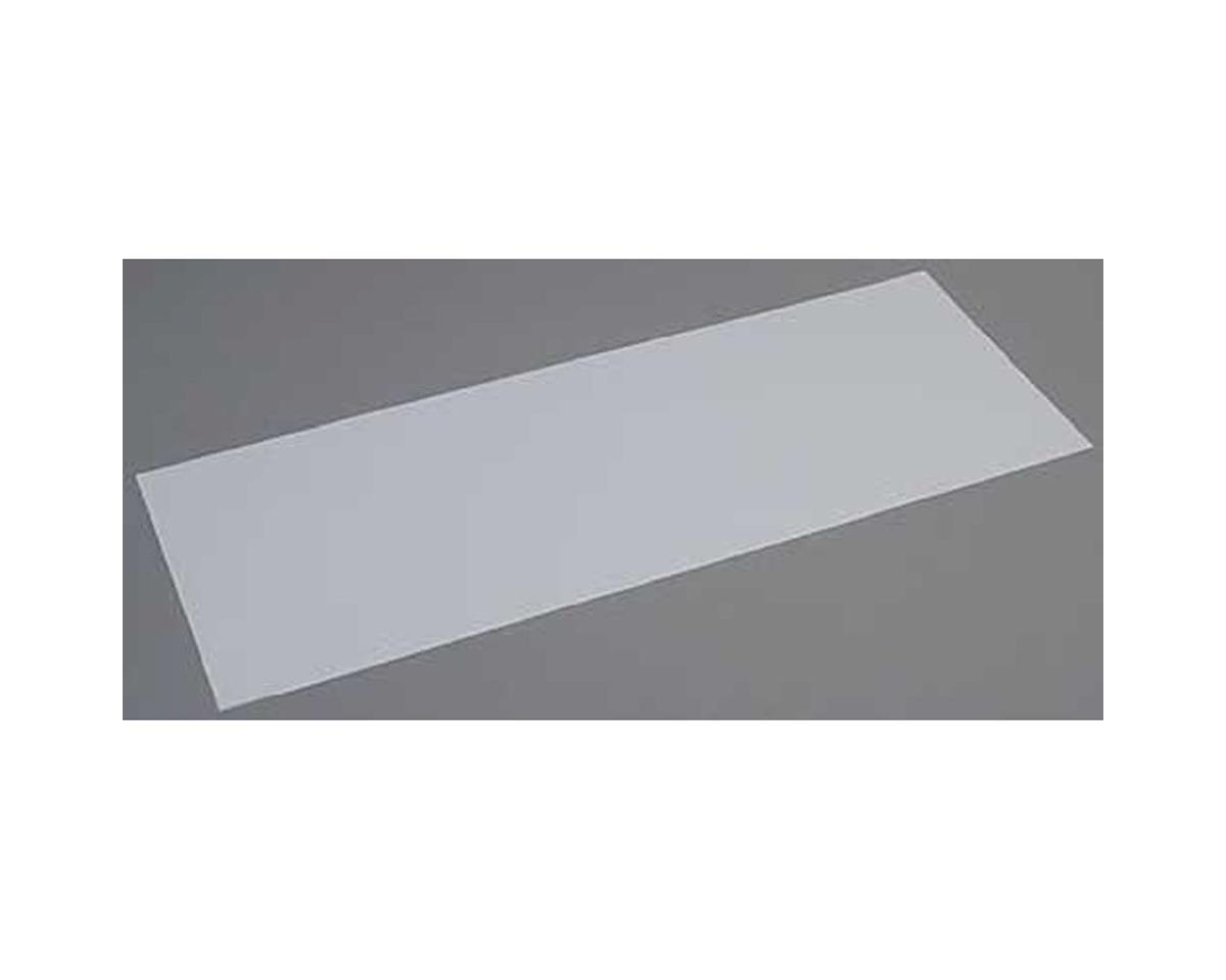 Evergreen Scale Models White Sheet .125 x 8 x 21