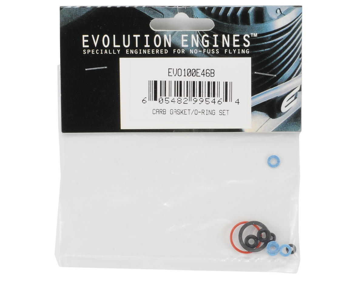 Evolution Carb Gasket/O-Ring Set