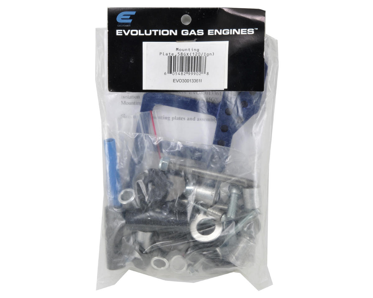 Evolution 120mm Ignition Mounting Plate (45GX & 58GX)