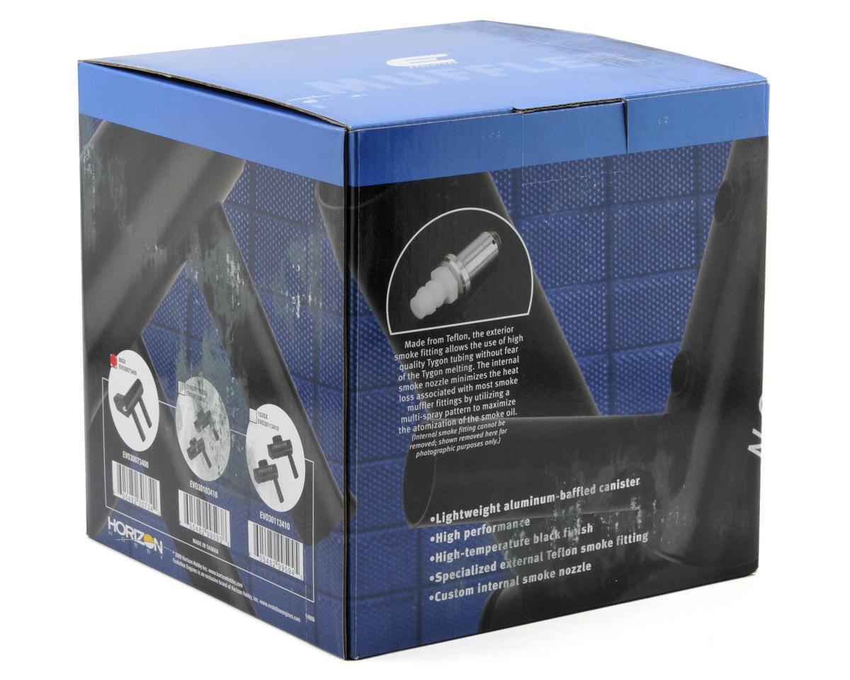 Evolution Inverted Wraparound Muffler w/Smoke Box (80GX)