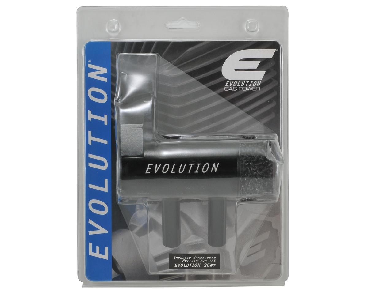 Evolution Inverted Wraparound Muffler (EVO26GT/2)