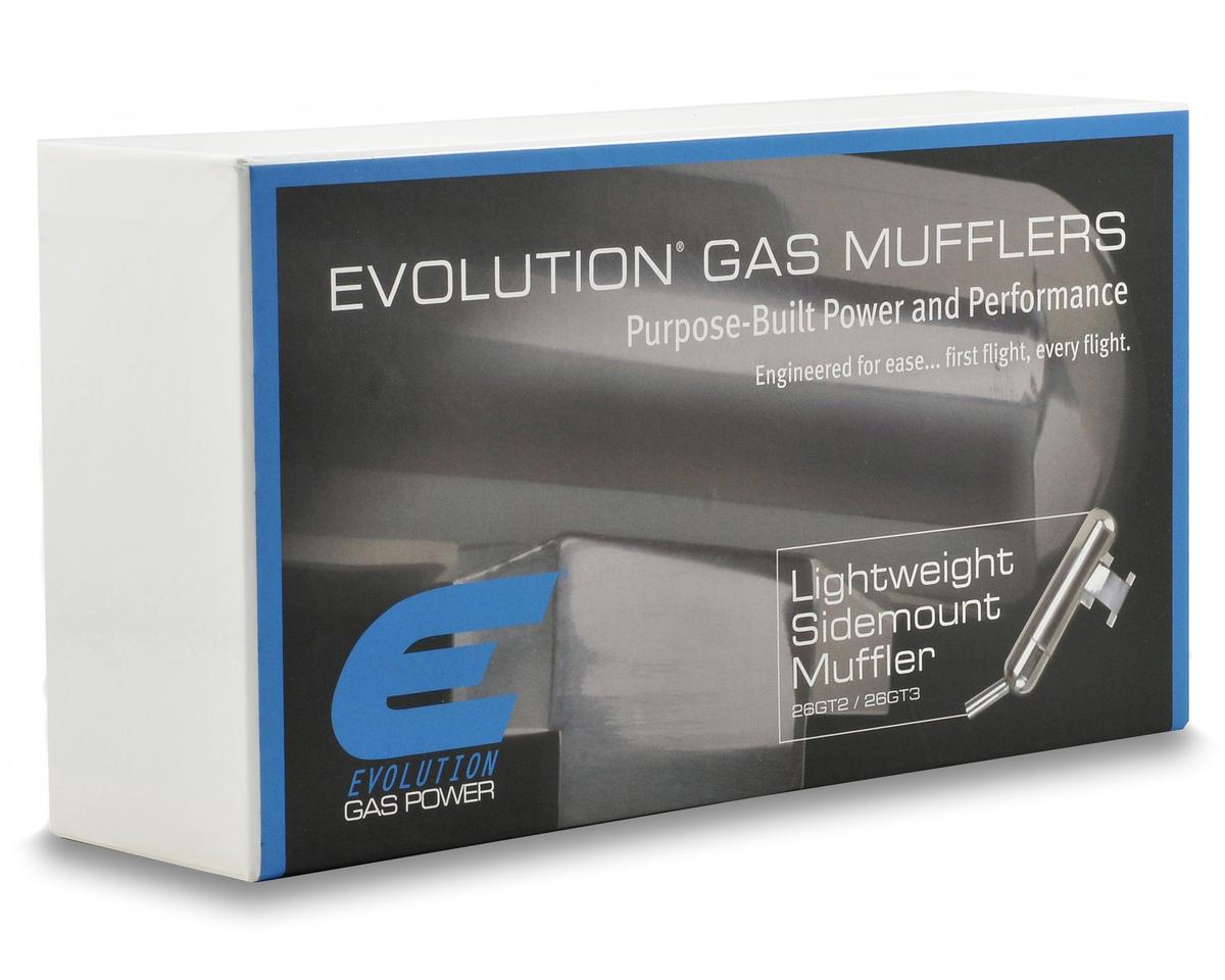 Evolution Side Mount Muffler (26GT2/X)
