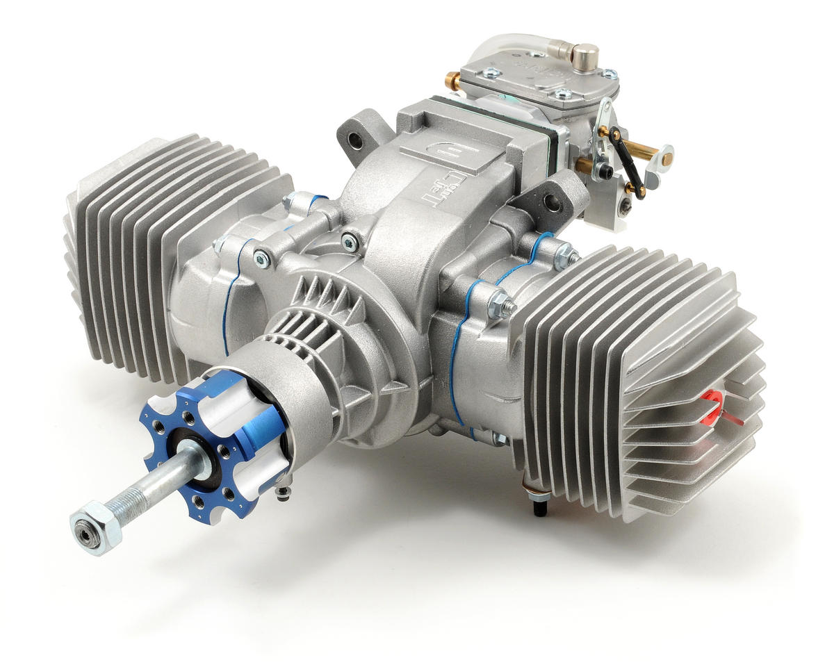 Evolution 116GX2 116cc Twin Cylinder 2-Stroke Gas Engine (No Muffler)