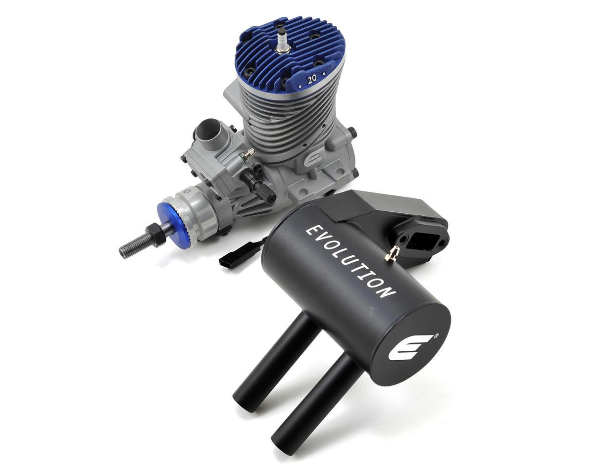 Evolution 20GX 20cc 2-Stroke Gas Engine w/Muffler