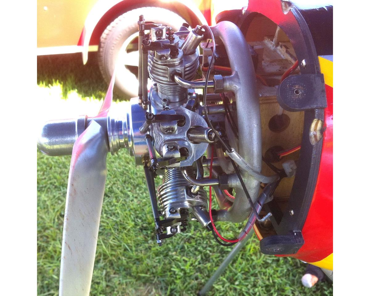 Evolution 7 Cyl 35cc 4 Stroke Glow Radial Engine