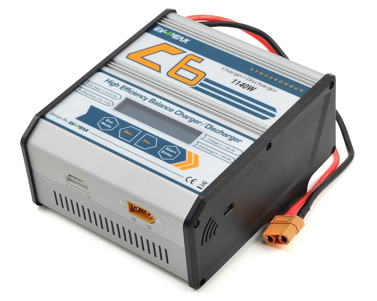 EV-Peak C6 High Power LiPo/LiHV DC Battery Charger (6S/45A/1140W)