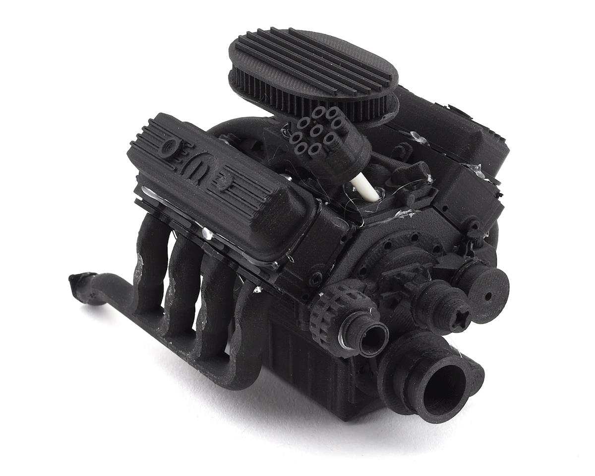 Exclusive RC Scale 440 Engine Kit (Fits 540 Motor) (Carbon Nylon)