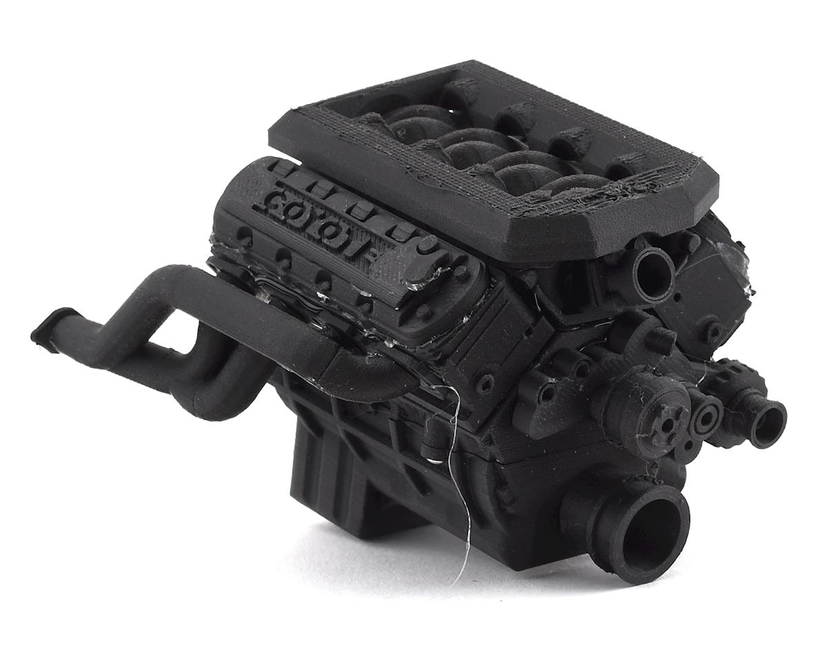 Exclusive RC Scale Coyote Engine Kit (Fits 540 Motor) (Carbon Nylon)